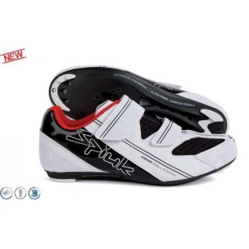 SPIUK Chaussures Route UHRA Blanches