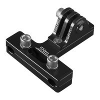 PRO Support camera alu Noir pour rail de selle
