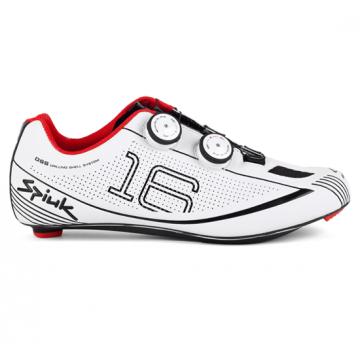 Spiuk 16 Route - Chaussures unisexes, couleur blanc/noir, taille 37