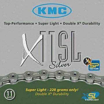 KMC Chaine X11 SL 11v Argent