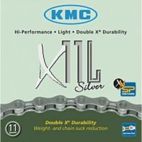 KMC Chaine X11 L 11v Argent