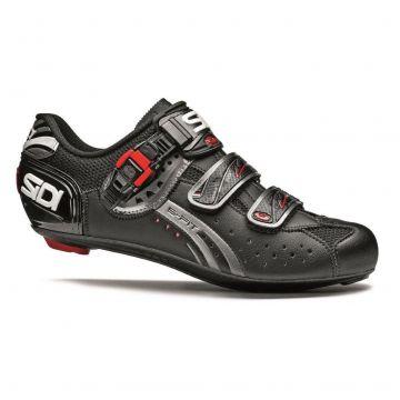 SIDI Chaussures Genius 5 Fit Mega Carbon Noir