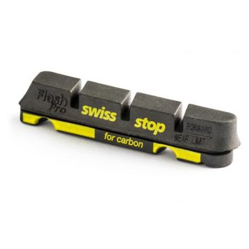 SWISSSTOP Patins Flash Pro Black Prince Carbone Shimano