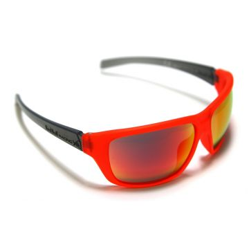 RED BULL Lunettes Sports-tech RBR214 Orange / Noir