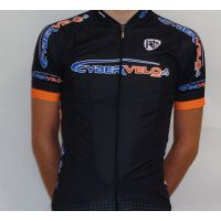 CYBERVELO Maillot Vélo Manches Courtes