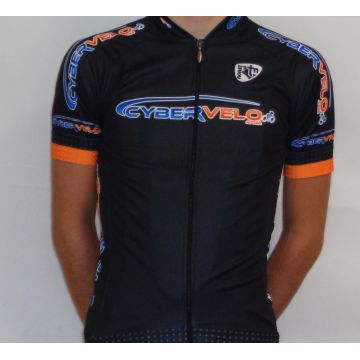 NORET Maillot Vélo Manches Courtes CYBERVELO