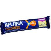 APURNA Barre Energetique Antioxydante 40g - Gout Banane - Chocolat Blanc