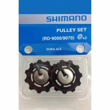 SHIMANO Paire De Galets Dérailleur Dura-Ace RD 9000 / 9070 11 Vitesses