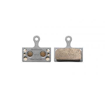 SHIMANO Plaquettes de Freins à Disques G04TI Metal