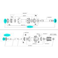 MAVIC Kit Appuis R-Sys Avant ou Arrière 2013