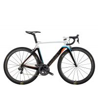 WILIER Velo Route Cento10Air Blanc Orange Bleu Taille M