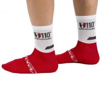 WILIER Chaussettes 110° Blanc / Rouge 2017
