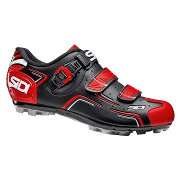 SIDI Chaussures VTT Buvel Noir Rouge Blanc