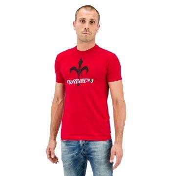 WILIER T-Shirt Logo Rouge