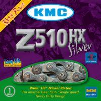 KMC Chaine Z510 HX Silver