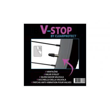 CLEARPROTECT V-Stop Adhésif Anti-Vibration pour Valve