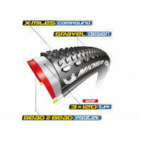 MICHELIN Pneu Power Gravel 700x35c
