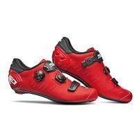 SIDI Chaussures Ergo 5 Rouge Mat Noir