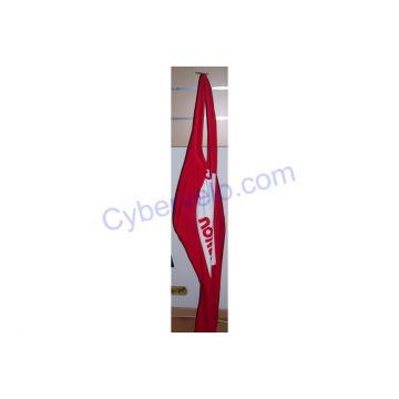 NORET Collant à Bretelles Rouge Blanc T5