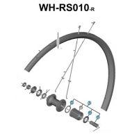 SHIMANO Corps de Roue Libre WH-RS010R 10/11v