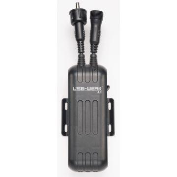 BUSCH MULLER Chargeur USB Werk pour Dynamo