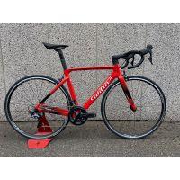 WILIER Vélo CENTO 10 SL Patin Rouge Noir Brillant SHIMANO ULTEGRA R8000