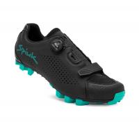 SPIUK Chaussures MONDIE VTT Noir Turquoise