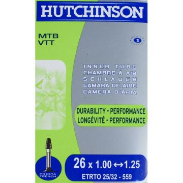 HUTCHINSON Chambre a air 26 x 1.0-1.25 Presta