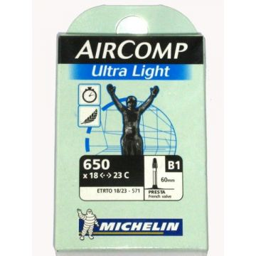 MICHELIN Chambre a air 650X18-23C Ultra Light