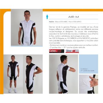 NORET Maillot Cycliste Air M