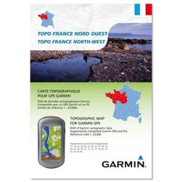 GARMIN Carte Topographique pour GPS