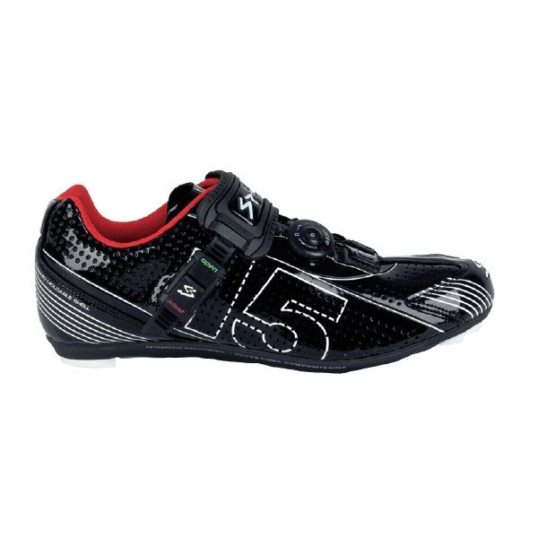 Spiuk 16 MTB - Chaussures unisexes, couleur rouge, taille 37