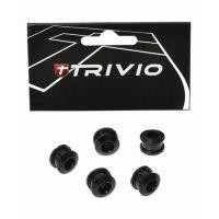 TRIVIO Kit de vis pour plateaux Route 9.9X4.05