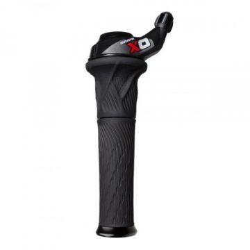 SRAM Paire de Grip Shift X0 2x10 Rouge