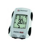 SIGMA Compteur GPS Rox 10.0 Blanc sans capteur