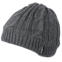 SEALSKINZ Bonnet Cable Knit Beanie
