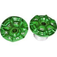 KCNC Embout de guidon 18-21mm vert