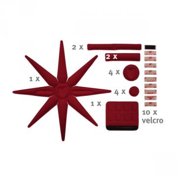 EFFETTO MARIPOSA Kit Mousse de Casque Universel OctoPlus