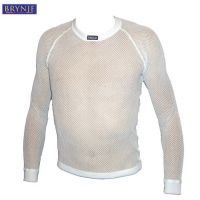 BRYNJE Sous-Maillot Manches Longues Thermo Blanc