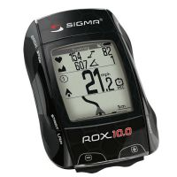 SIGMA Compteur GPS Rox 10.0 Noir Basic sans capteurs