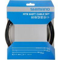 SHIMANO Kit Cables et Gaines Derailleurs Noir