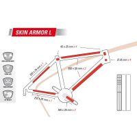 ZEFAL Protection Adhésive pour Cadre SKIN ARMOR L