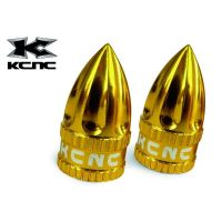 KCNC Bouchons de valve Shrader Or