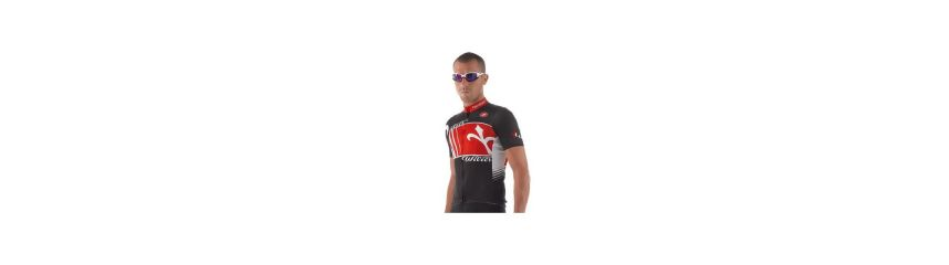 Maillot cyclisme manches courtes